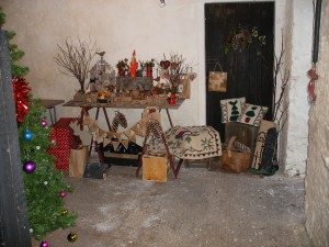 Christmas Craft Stall in the Stable